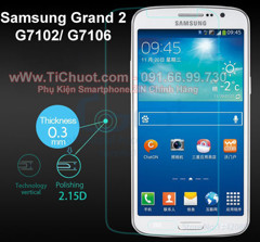 Kính CL Samsung Grand 2 G7102 (9H-0.26mm)