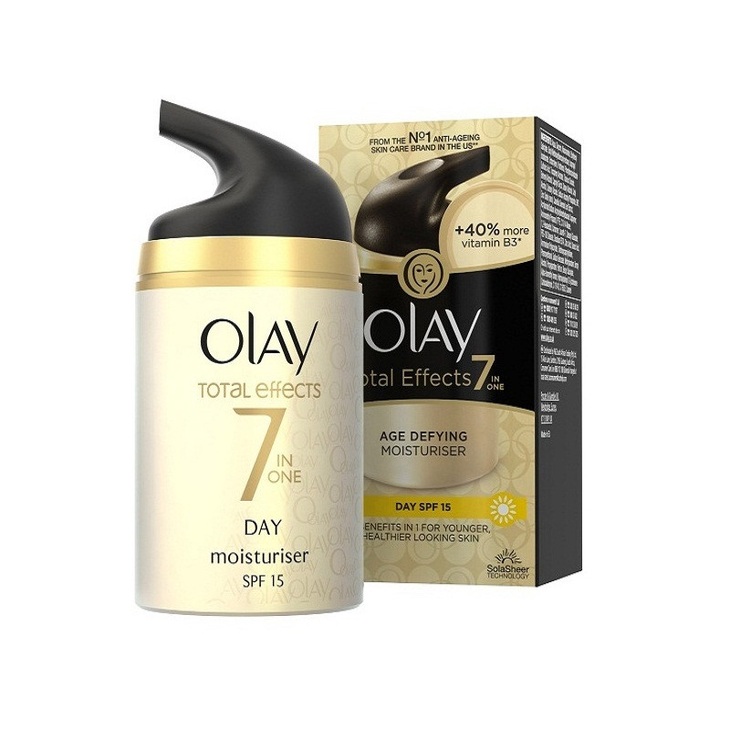 Kem dưỡng chống lão hóa Olay Total Effects 7 in One Age Defying Moisturizer Day SPF15
