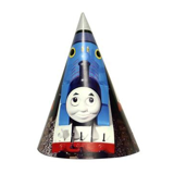 Nón sinh nhật Đoàn tàu Thomas 16cm 6/gói - Thomas the Train party hats 16cm 6/pack