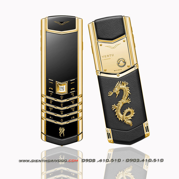 Vertu Signature S Design Gold Dragon