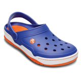 Crocs - Giày Unisex Front Court Clog (Sea Blue/Orange)