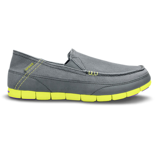 Crocs - Giày Lười Nam Stretch Sole Loafer (Xám)