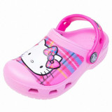 Crocs - Hello Kitty Pd Cg AS Carnation/Neon Magneta Bé Gái