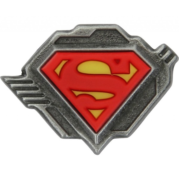 Crocs - SUP Superman Shield Lgo - Card Jibitz