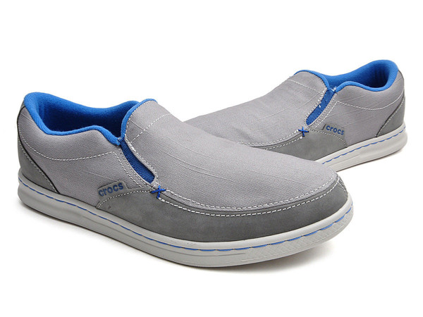 Crocs - LOPRO CANVAS SLIP-ON SNEAKER M CHARCOAL/SMOKE Nam
