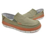 Crocs - Stretch Sole Giày Loafer M Army Green/Rust Nam