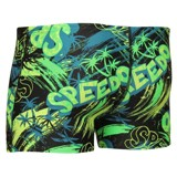 Speedo - Quần Bơi Bé Trai 8-33162A750 Jumpin Fun Allover Aquashort Black/Green