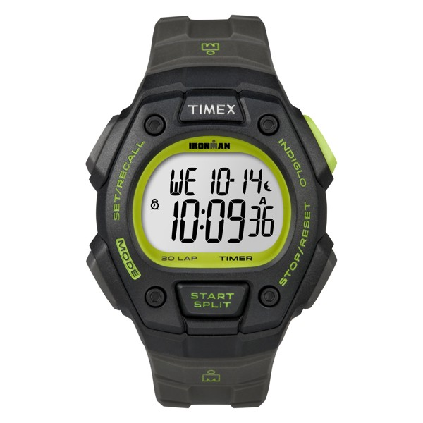 Timex - Đồng Hồ Thể Thao Nam Dây Cao Su T5K824 IRONMAN® Classic 30 Full-Size (Đen)