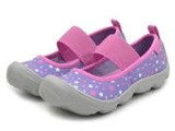 Crocs - Giày Lười Bé Gái Duet BusyDay Galactic MJ PS Blue Violet/Light Grey (Tím)