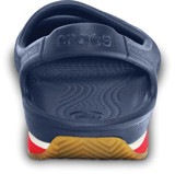 Crocs - Crocs Retro Guốc Marry Jane Girl C Navy/Red Bé Gái