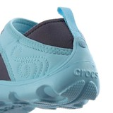 Crocs - Duet Busy Day Guốc Marry Jane GS Charcoal/Ice blue Bé Gái