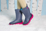 Crocs - Duet Busy Day Giày Cổ Cao Boot W Nautical Navy/Candy Pink Nữ