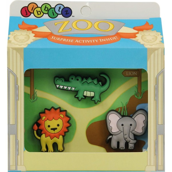 Crocs - CROCS 3000002 Zoo Animals jibitz Mix color Jibitz