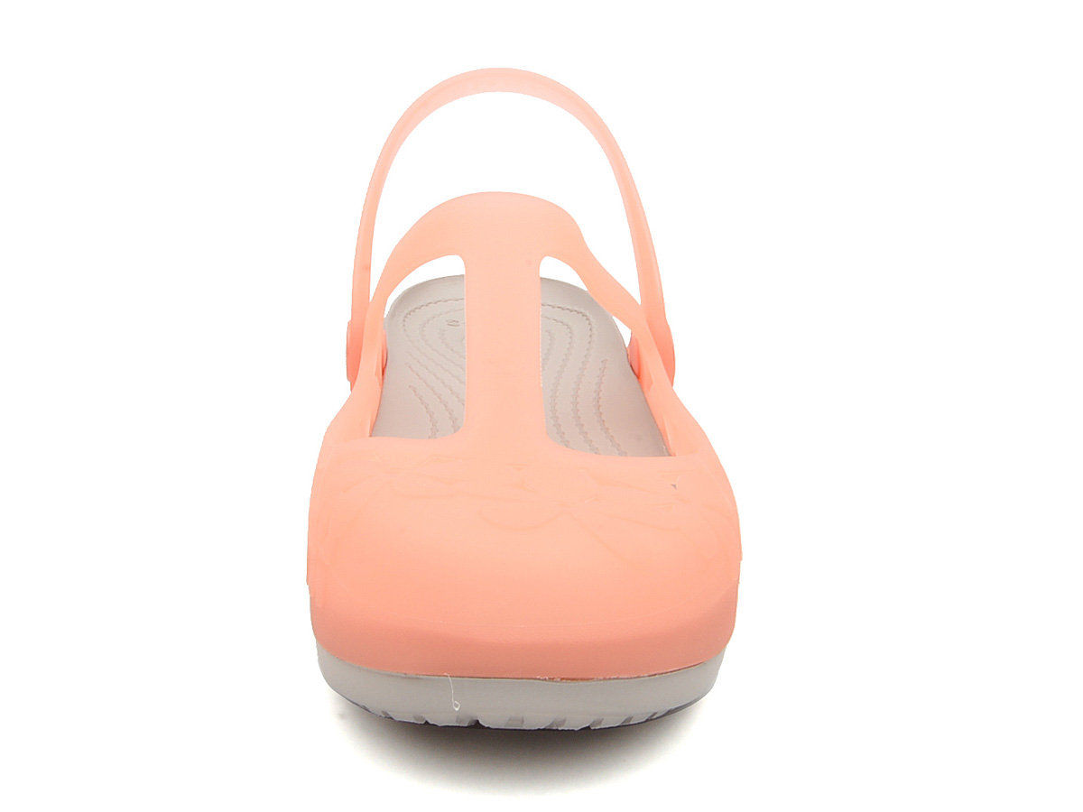 c3af3363a8d6e Crocs - Carlie MJ Flower Melon Platinum Nữ – CART VIET NAM