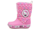 Crocs - CB Hello Kitty Gust Giày Cổ Cao Boot AS-Party Pink Bé Gái