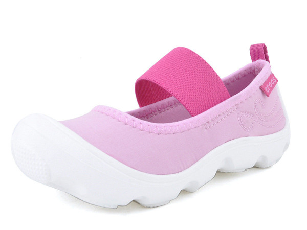 Crocs - Duet Busy Day Mary Jane PS Carnation/Fuchsia Bé Gái