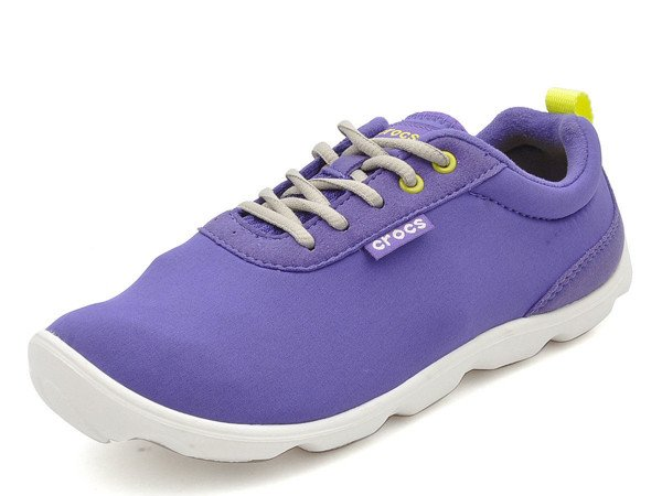Crocs - Duet Busy Day Lace-up W UltraViolet/White Nữ