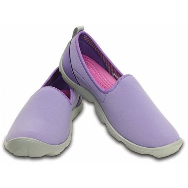Crocs - Duet Busy Day Skimmer W Blue Violet/Light Grey Nữ