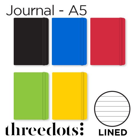 Sổ Threedots, khổ A5 - giấy Lined