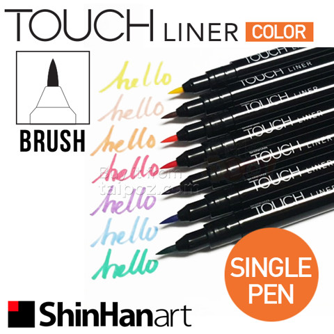 Bút Touch Liner Color, nét Brush