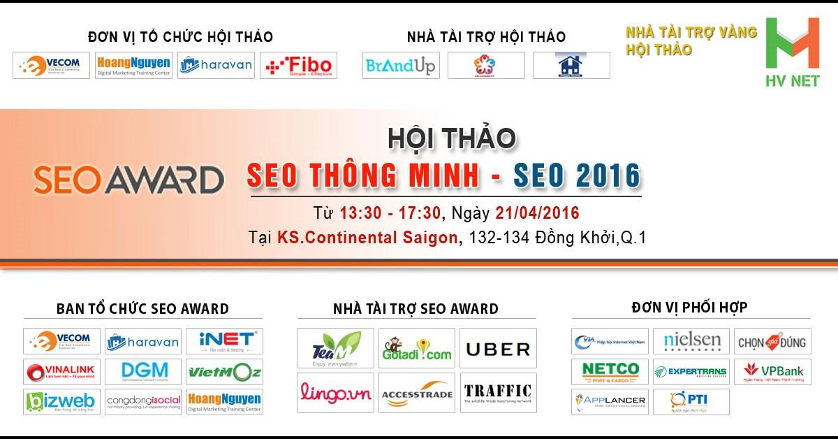 Hội thảo SEO Thông minh - SEO 2016