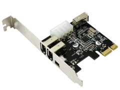 Card PCI Express to 1394 4 cổng 1394