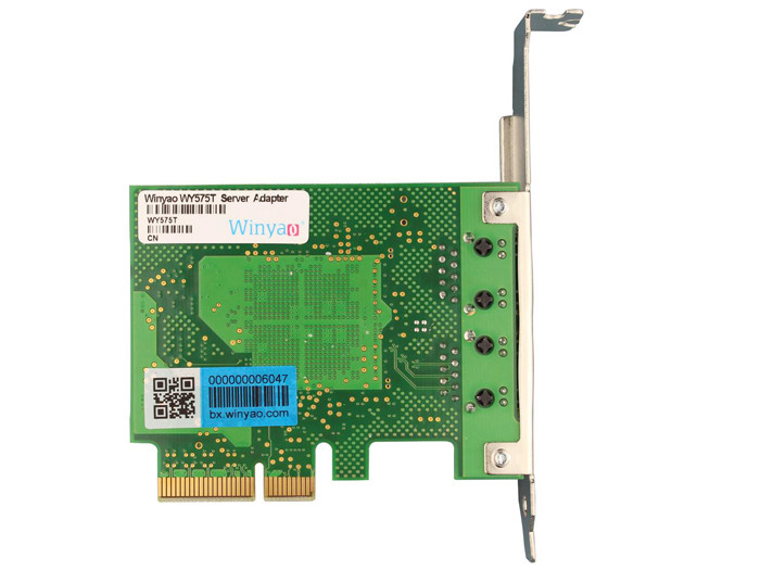Card mạng server 2 Port LAN Gigabits Winyao WY575T
