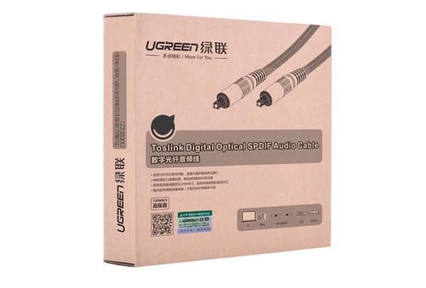 Cáp audio quang ugreen vỏ nhôm