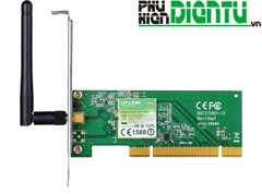 Card PCI Wifi TP Link TL-WN751ND 150Mps