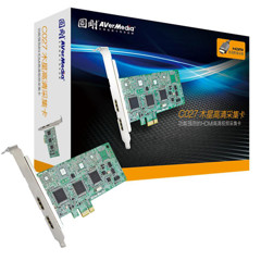 Card PCI-E to HDMI, AV, Svideo AverMedia C027