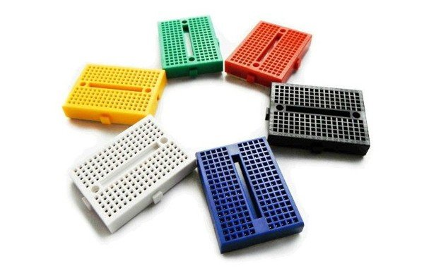 Breadboard Mini 170 lỗ 45x34x9mm