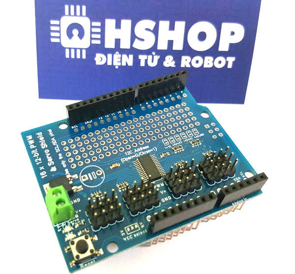 Arduino 16 Chanel PWM Shield PCA9685