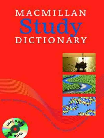 Macmillan Study Dictionary: paperback with CD-ROM