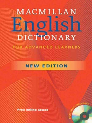 Macmillan English Dictionary ( 2 Ed.): Paperback with CD-ROM