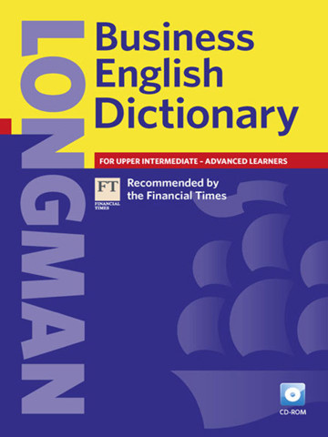 Longman Business English Dictionary (New Ed.):Paperback with Cd-Rom
