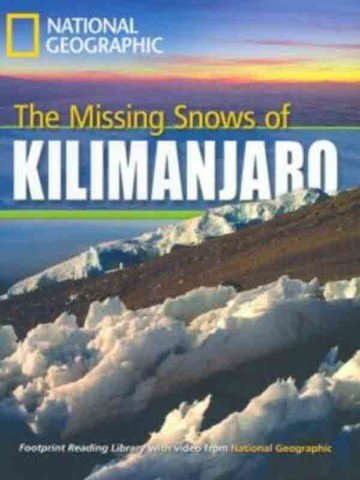 The missing snows of Kilimanjaro