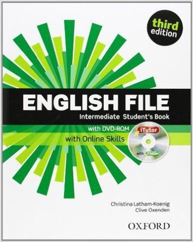 English File, 3rd Edition Intermediate: Student's Book & iTutor & Online Skills Practice Pack