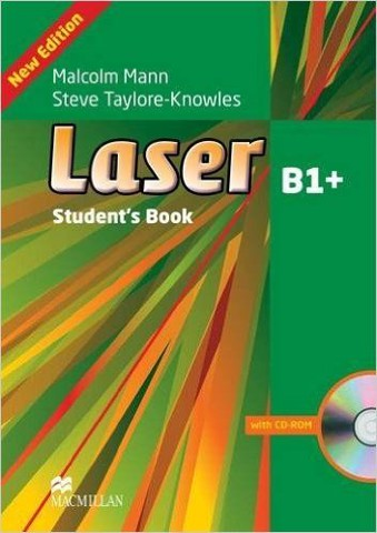 Laser (3 Ed.) B1+: Student book with CD-ROM