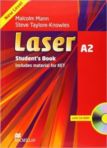 Laser (3 Ed.) A2: Student book with CD-ROM