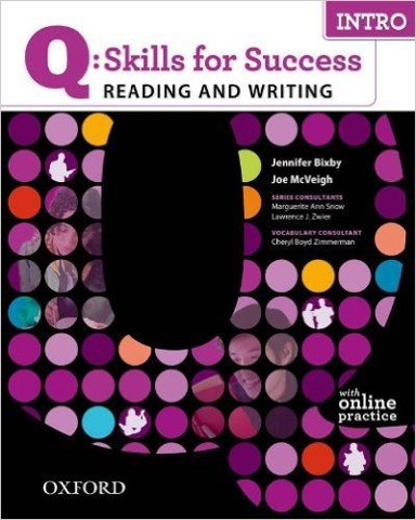 Q: Skills for Success Reading & Writing Intro Student Book with Student Access Code Card