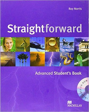 Straightforward Adv: Student Book with CD-Rom