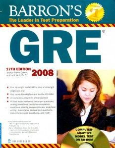 Barron's Gre 17th Edition