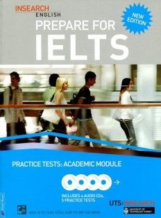 Prepare For Ielts Academic Practice + 4CD (Khổ Lớn)