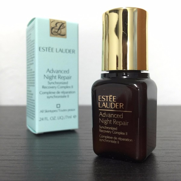 Image result for estee lauder advanced night repair cách dung