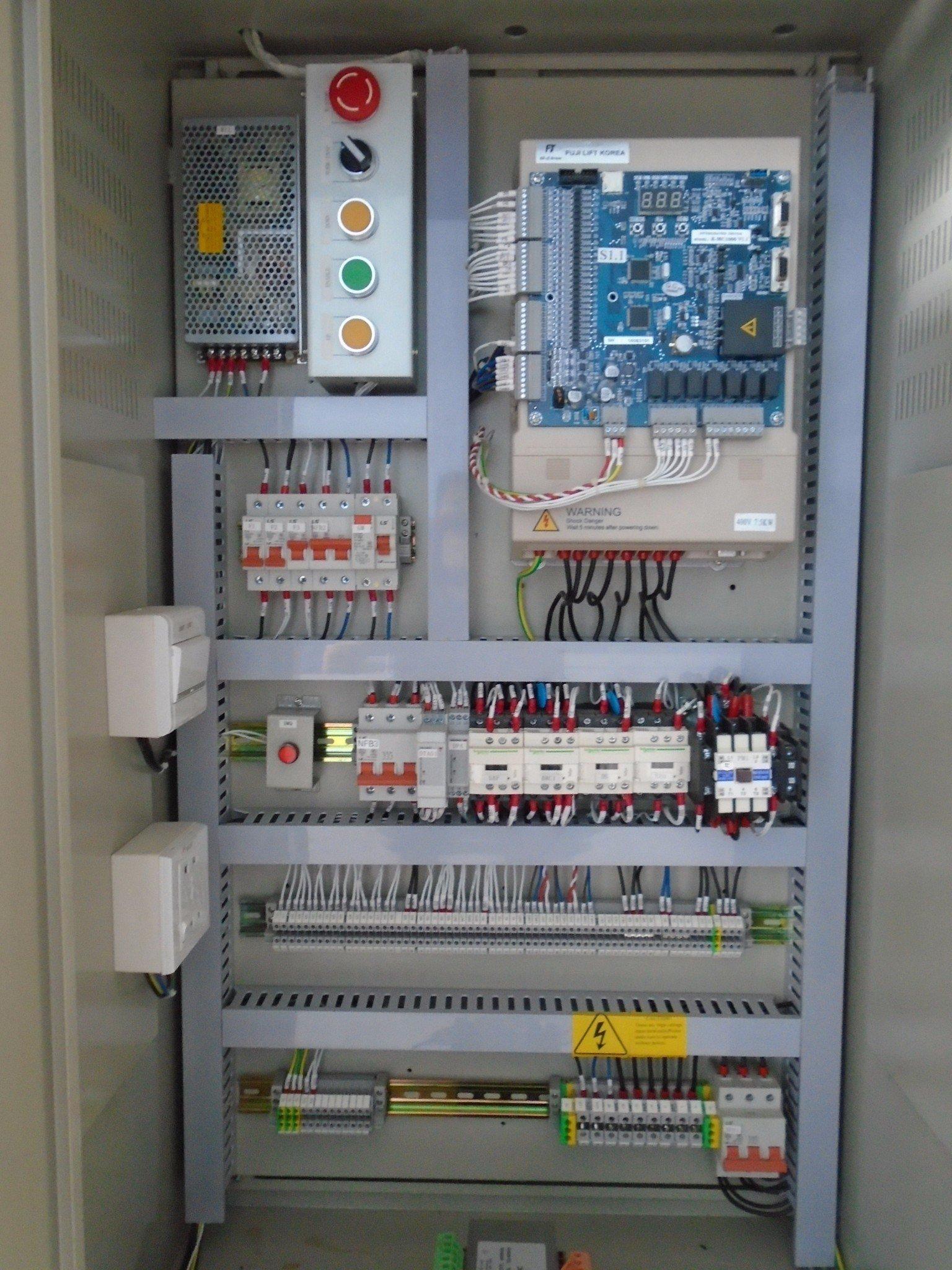 Tủ điện điều khiển thang máy nhập khẩu Fuji loại 5.5 kW – Thang ...
