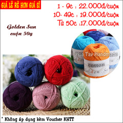 Golden Sun - Cotton HongKong