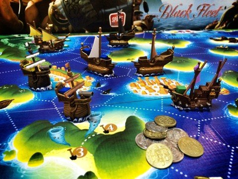 US - Black Fleet Boardgame