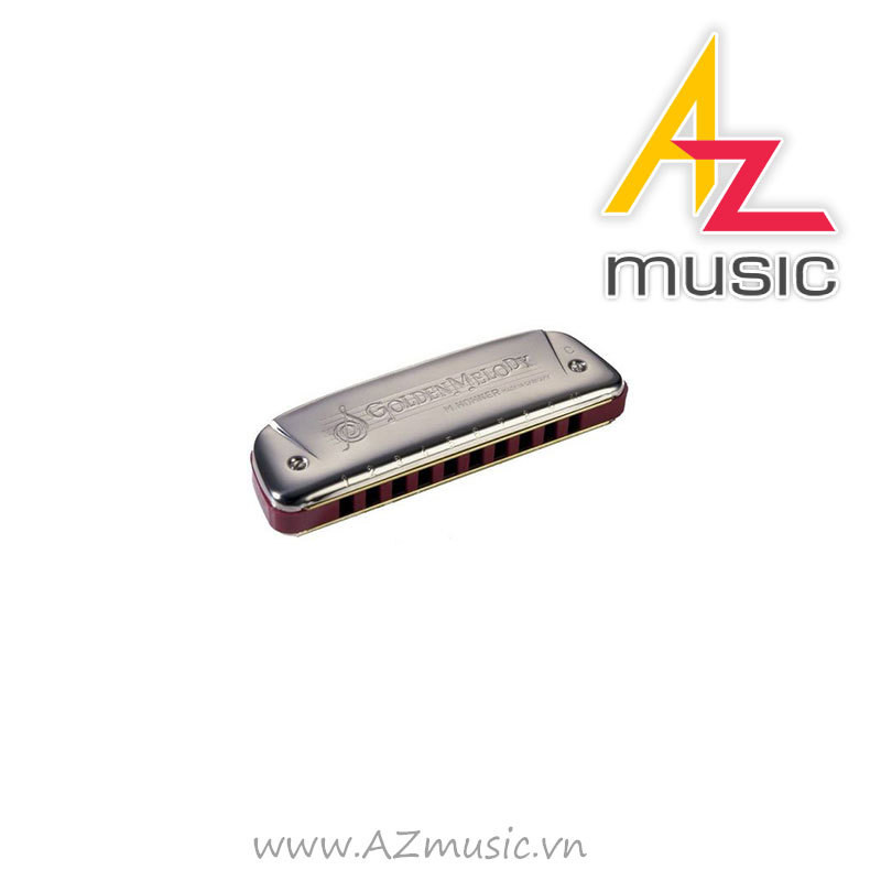 Kèn Harmonica Golden Melody Key D
