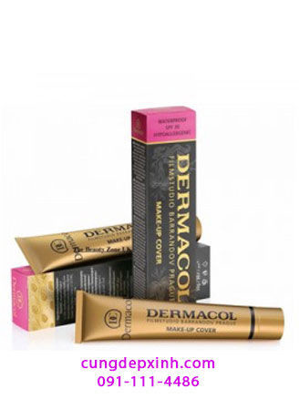 Kem nền Dermacol make up cover
