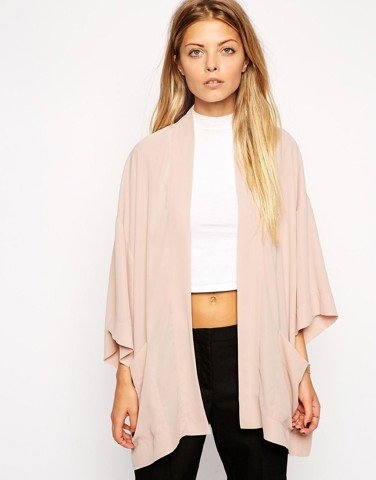 Oversized Kimono with Pockets